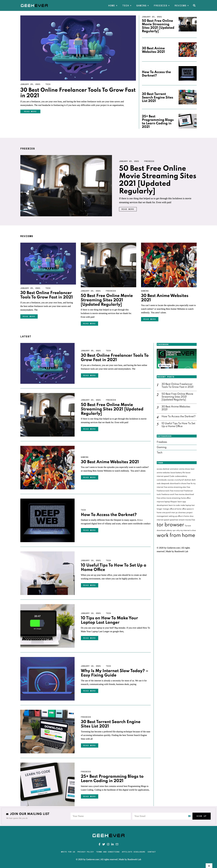 geekever modern tech blog